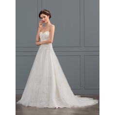 straight line wedding dresses