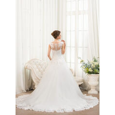 robes de mariée princesse rose