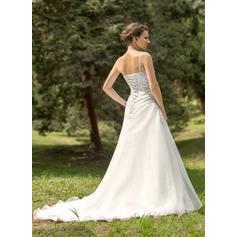 billige brudekjoler online langermet