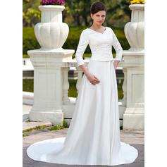 caer una línea de vestidos de novia