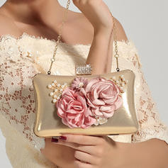 Clutches Wedding/Ceremony & Party PVC Snap Closure Elegant Clutches & Evening Bags