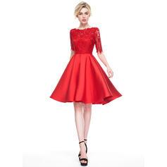 vestidos de cocktail em vermelho