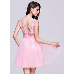 plus størrelse korte homecoming kjoler