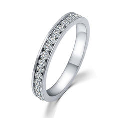 "Rings Alloy/Rhinestones Ladies' Shining 0.78""(Approx.2cm) Wedding & Party Jewelry"