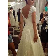 scoop mermaid wedding dresses