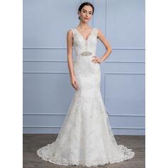 vestidos de novia cortos azules