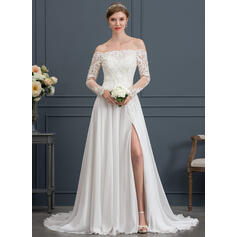 tight wedding dresses with sleeves