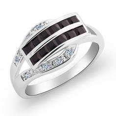 Rings Copper/Zircon/Platinum Plated Ladies' Pretty Wedding & Party Jewelry