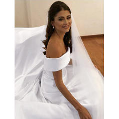 poofy wedding dresses with long trains