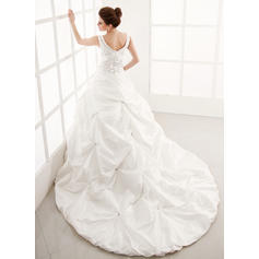 cheap heart shaped wedding dresses