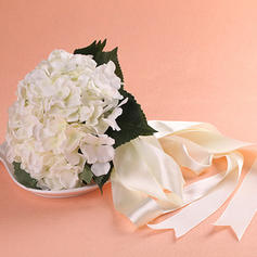 Bridal Bouquets/Bridesmaid Bouquets Round Wedding Fabric Gorgeous Wedding Flowers