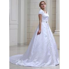 låga bröllopsklänningar