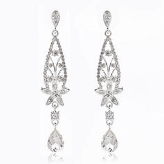 "Earrings Alloy/Rhinestones Ladies' Elegant 3.35""(Approx.8.5cm) Wedding & Party Jewelry"