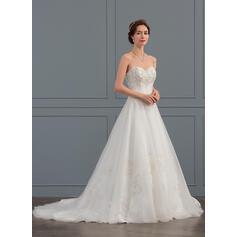 straight wedding dresses lace