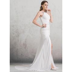 robes de mariée noires pour demoiselles d'honneur