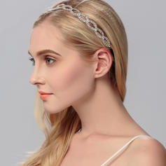 "Headbands Wedding Rhinestone/Alloy 9.65""(Approx.24.5cm) 0.59""(Approx.1.5cm) Headpieces"