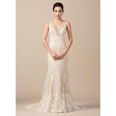 mãe de vestidos de noiva com mangas