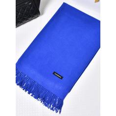 Shawl Fashion Artificial Wool Black Royal Blue White Red Pearl Pink Wraps