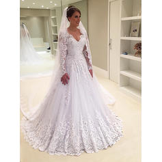 ball gown white wedding dresses