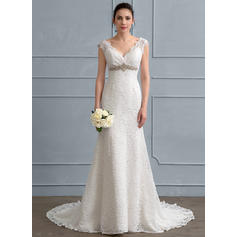 satin wedding dresses for women