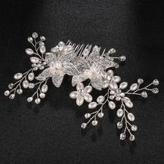 "Combs & Barrettes Wedding Alloy 5.91""(Approx.15cm) 3.55""(Approx.9cm) Headpieces"