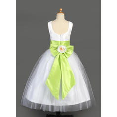 princess tulle tutu flower girl dresses