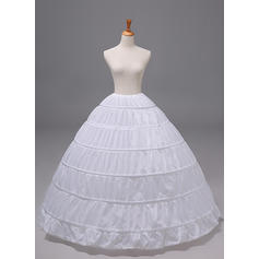 Petticoats Polyester Ball Gown Slip 1 Tiers Wedding Petticoats