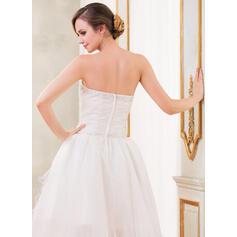 monteret blonder brudekjoler