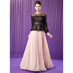 A-Line/Princess Sweetheart Floor-Length Mother of the Bride Dresses (008211450)