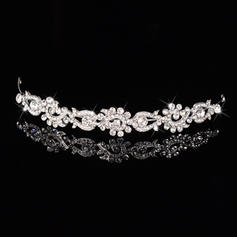 """Tiaras Wedding/Special Occasion/Party Rhinestone/Alloy/Imitation Pearls 0.78""""(Approx.2cm) 5.51""""(Approx.14cm) Headpieces"""