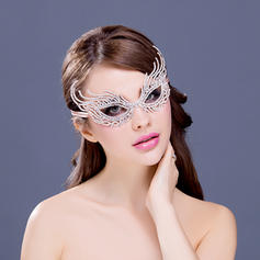 "Masks Special Occasion/Party Rhinestone/Alloy 8.27""(Approx.21cm) 3.94""(Approx.10cm) Headpieces"