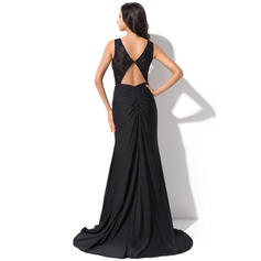 elegant long evening dresses plus size