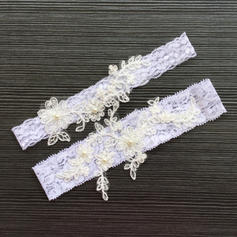 Garters Women/Bridal Wedding/Special Occasion Lace With Imitation Pearls Garter