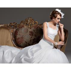 más vestidos de novia de tamaño con los brazos