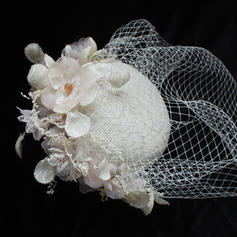 Cotton With Tulle Fascinators/Beret Hat Beautiful/Gorgeous Ladies' Hats