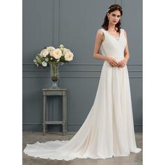 tall thin wedding dresses
