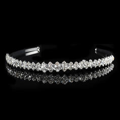 """Tiaras Wedding/Special Occasion/Party Rhinestone/Alloy 0.59""""(Approx.1.5cm) 6.3""""(Approx.16cm) Headpieces"""