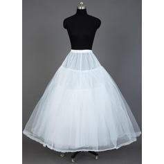 Petticoats Floor-length Tulle Netting/Taffeta Ball Gown Slip 3 Tiers Petticoats
