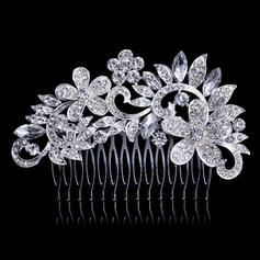 Combs & Barrettes Wedding/Special Occasion/Party Rhinestone Beautiful Headpieces