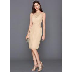 a linha de vestidos de cocktail