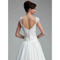 beaded wedding dresses with sleeves