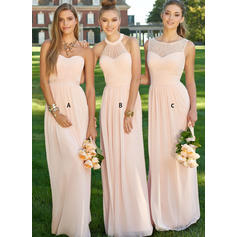 Ruffle Sweetheart With Gorgeous Chiffon Bridesmaid Dresses