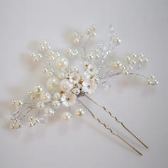 "Hairpins Wedding/Special Occasion Alloy/Imitation Pearls 3.15""(Approx.8cm) 0.78""(Approx.2cm) Headpieces"