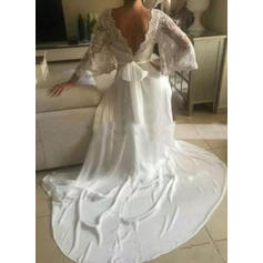 wedding dresses for thick arms