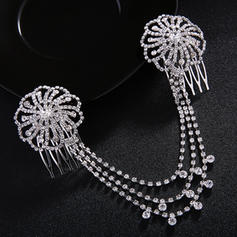 "Combs & Barrettes Wedding/Special Occasion/Party Rhinestone 8.66""(Approx.22cm) 1.77""(Approx.4.5cm) Headpieces"