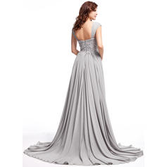 black plus size prom dresses with sleeves 2019