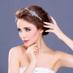 "Headbands Wedding/Special Occasion/Party Rhinestone/Alloy/Silver Plated 5.91""(Approx.15cm) 1.18""(Approx.3cm) Headpieces"
