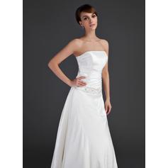 tela de encaje blanco para vestidos de novia