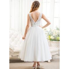 robes de mariée en satin long