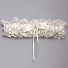 Strumpfbänder Damen/Brautmoden Hochzeit Satin/Lace mit Bowknot/Strass Strumpfband